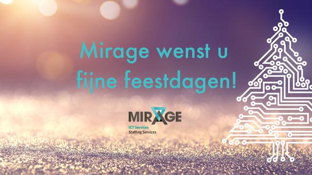 Fijne Feestdagen Van Mirage!
